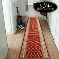 Thick Runner TRADITIONAL OPTIMAL ZDROJEK MAROON Width 67-150cm extra long RUGS