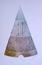 Norbert Grimm o.T. VI 80 - limit. handsignierte Radierung mit Reliefdruck