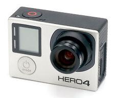 GoPro Hero 4 Negro Edición 4k Acción Videocámara con 7.2mm (40mm) F/2.5