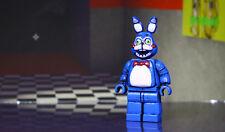 Personalizzato LEGO Minifigura [ispirato giocattolo Bonnie fnaf cinque NOTTI AT FREDDYS]