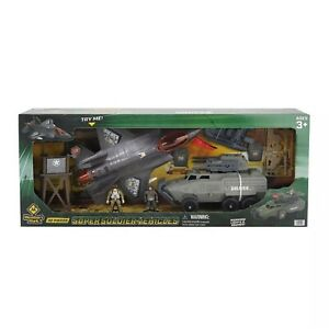SOLDIER FORCE PLAYSET~ASSAULT VEHICLES~BY MEMBER'S MARK BRAND NEW IN BOX