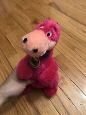 "Mighty Star Flintstones Dino The Dinosaur 11"" Plush Stuffed Toy Vintage 1980 Old"