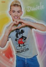DANIELE NEGRONI - A3 Poster (ca. 42 x 28 cm) - DSDS Clippings Fan Sammlung NEU