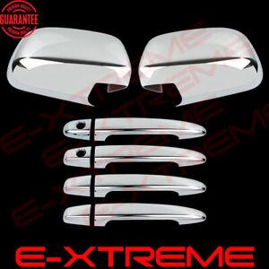 CHROME COVERS FOR 2004 2005 2006 LEXUS RX330/350 Mirrors+Door handle w/PK Combo