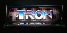 "Tron Backlit 4"" x 11"" Marquee w/ The Arcade Light Box Display"