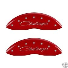 Dodge CHALLENGER R/T RT MGP Disc Brake Caliper Covers 12001 SCLSRD Red