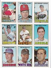 **1967 Topps #36 Bob Tillman No creases, Slightly soft corners** ONE CARD ONLY!