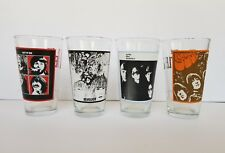 The Beatles 2010 Apple Album Cover Photos Drinking Glasses Set of 4 let it be