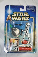 "Star Wars Saga AOTC 2002 ""Clone Trooper Republic Gunship Pilot #49"" - NEW -"