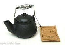 Old Mountain Cast Iron  Mini Tea Kettle 1.5 Cups Stay Cool Handle #10179