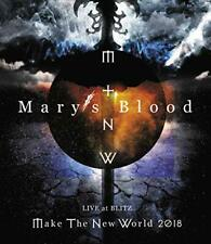 [Blu-ray] Mary's Blood LIVE at BLITZ Make The New World Tour 2018 NEW from Japan
