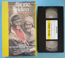 VHS Documentario Airone KALASH GLI ULTIMI PAGANI D'ORIENTE ex nolo no dvd(V145)