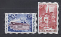 Luxembourg 1980 Buildings Sc 639-640 complete mint never hinged
