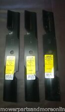 "3 x XHT HARDENED SCAG 52"" Mower Blades 481707, HUSQVARNA 5391057-12 539 10 57-12"
