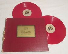 SAIDENBERG -- Gordian Knot -- LIMITED EDITION ALBUM -- 2 Red Vinyl 78RPM Records