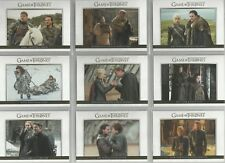 "Game of Thrones Season 7 - ""Relationships"" 10 Card GOLD Parallel Set #DL41-DL50"