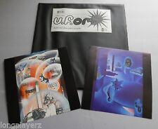 The Orb - U.F.Orb UK 1992 Big Life DBL Black PVC Wallet + Prints