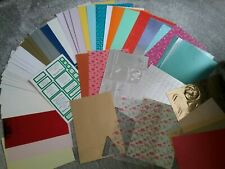 CRAFT,CARD,PAPER ,VELLUM ,paper Frames,Lots To  Make LOVELY Cards