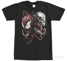 Spiderman- Carnage & Venom T-Shirt L - Black