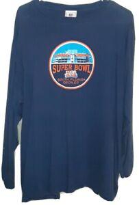 NFL Super Bowl XLI Long Sleeve Shirt! Adult Large.