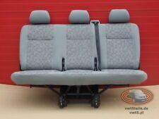 VW T5 Sitzbank OX Sitz Sitze 3er SATZ SICHERHEITSGURT SITZHALTERUNG 2. Sitzreihe