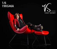 1/6 VSTOYS 19XG46 Metal/Resin Lounge Chair Sling Chair Stool Model Figure Scene