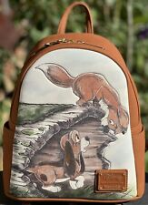 More details for disney loungefly mini backpack fox and the hound todd and copper