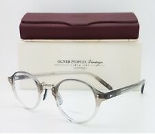 NEW Oliver Peoples Rx OP-1955 OV5185 1436 45mm Vintage Grey Fade AUTHENTIC Round