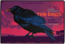 THE BIRDS - MONDO Movie Poster Print HAND SIGNED and #d 14/150 DURIEUX - VARIANT