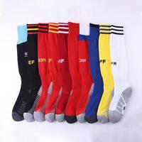 Men Anti-Slip Soccer Sports Socks Football Baseball Long Knee High Stockings