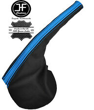 BLACK & BLUE LEATHER HANDBRAKE BOOT FITS FORD FALCON BA BF FPV GT XR6 XR8 02-07