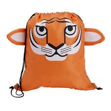 Tiger Cub - Childrens Animal Draw String Backpack Sport Pack Tote Bag