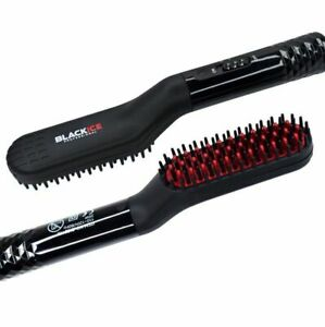 ELECTRIC BEARDS AND HAIR STRAIGHTENING BRUSH BLACKICE #BIC211B