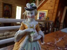 Hand Painted Porcelain Figurine Early Piece 19th Century...