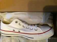 696e6355c5b07f Converse All Star Chuck Taylor Canvas Shoes Low Top M7652 White Men 6    Women 8