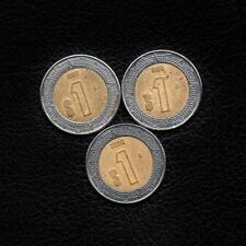 (3) 1 Peso Mexico 1997-1998 & 2000 -Ship 50Cts Per item Added