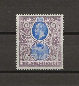 SIERRA LEONE 1912-21 SG 129 MINT Cat £950