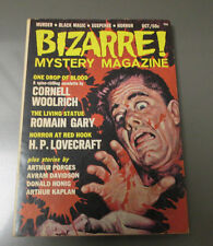 1965 BIZARRE Mystery Magazine #1 VF- Murder Black Magic Suspense Horror 142 pgs