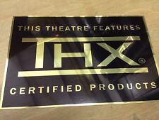 THX Cinema Sign
