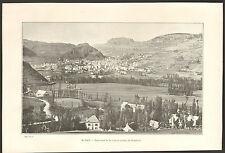 15 MURAT PANORAMA DE LA VILLE ROCHER DE BONNEVIE IMAGE 1903