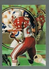CURTIS MARTIN #15 PATRIOTS RB  1997 topps stadium club members only