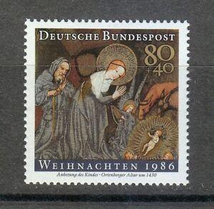Germany 1986 MNH Mi 1303 Sc B651 Christmas.Infant Jesus **