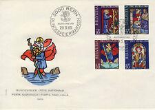 Ersttagsbrief Schweiz MiNr. 902-905 - »Pro Patria«: Kunst und Kunsthandwerk (II)