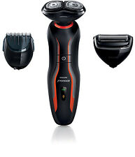 NEW Philips Norelco YS524/41 CLICK & STYLE Shave Toolkit Men's Electric Shaver