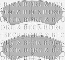 FRONT  BRAKE PADS FOR SSANGYONG GENUINE OE BORG & BECK  BBP1789