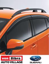 Brand New Genuine Subaru XV MY18 Weathersheilds
