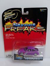 Johnny Lightning Street Freaks 00 Honda Civic Custom Purple HTF