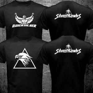 New Silverhawks Quicksilver Retro Classic Nostalgia Cartoon Tv Series T-shirt