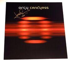 ORGY JAY GORDON SIGNED CANDYASS 12X12 ALBUM COVER PHOTO!!!