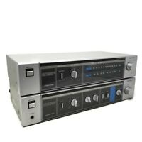 SANYO STEREO INTEGRATED AMPLIFIER  w AM/FM STEREO TUNER  Sanyo JA 240 & JT 240